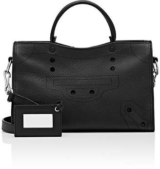 Balenciaga Women's Blackout City Small Leather Bag