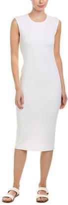James Perse Cap Sleeve Midi Dress
