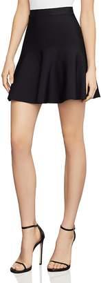 BCBGMAXAZRIA Ingrid A-Line Mini Skirt