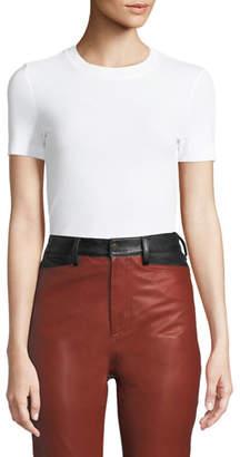 Rosetta Getty Crewneck Short-Sleeve Classic Slim-Fit T-Shirt
