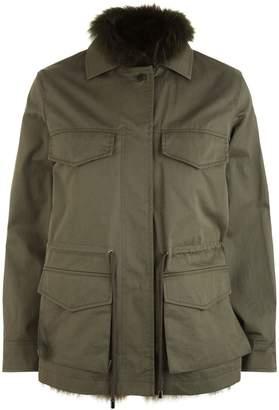 Max Mara Raccoon Fur Lined Jacket