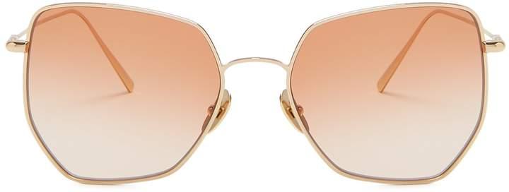 KALEOS Boggs geometric-frame sunglasses