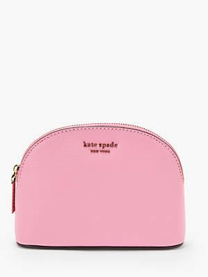 5ced5fb70920 Kate Spade Sylvia Leather Small Dome Makeup Bag
