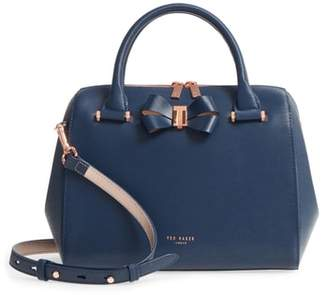 Ted Baker Small Bowsiia Leather Bowler Bag