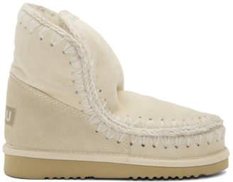Mou White Eskimo 18 Boots