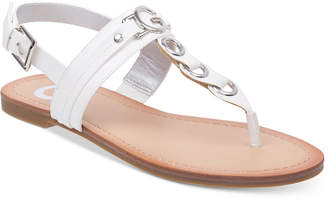G by Guess Lesha Flat Sandals Women's Shoes