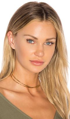 gorjana Elea Collar Necklace in Metallic Gold. $85 thestylecure.com