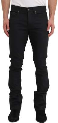 Saint Laurent Low-rise Bootcut Black Jeans