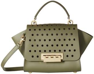 Zac Posen Eartha Top-Handle - Hex Floral Perf Handbags