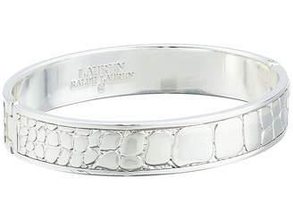 Lauren Ralph Lauren Croc Pattern Bangle Bracelet
