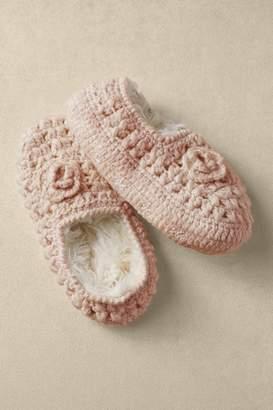 Soft Surroundings Pointelle Slipper Socks