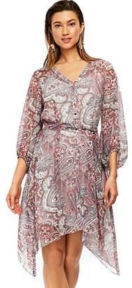 Wallis Ivory Paisley Shift Dress