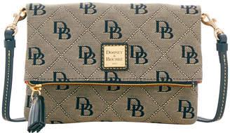 Dooney & Bourke Maxi Quilt Foldover Crossbody