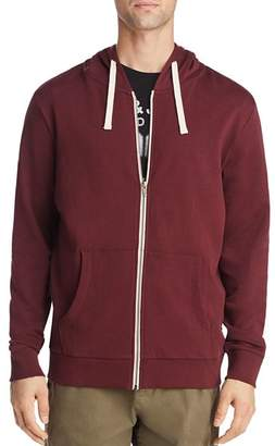 8d522c9dc Dark Red Mens Hoodie With Zipped Pockets - ShopStyle