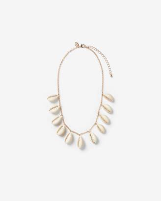 Express Rhinestone Puka Shell Necklace