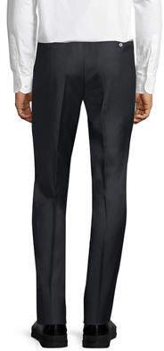 Luciano Barbera Wool Trouser Pants