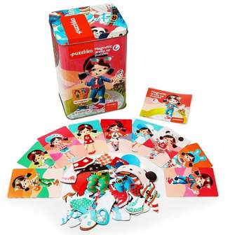 Friendly Gifts Dress Up The Dolls Magnetic Puzzles By Puzzlika