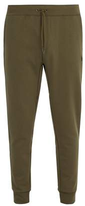 Polo Ralph Lauren Logo Embroidered Cotton Jersey Track Pants - Mens - Green