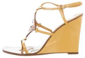 Louis Vuitton Monogram Wedge Sandals