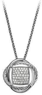 David Yurman Infinity Small Pendant Necklace with Diamonds