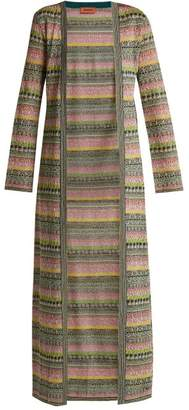 Missoni - Striped Metallic Cardigan - Womens - Multi