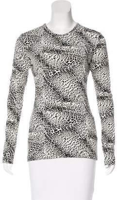 KAMALIKULTURE Leopard Print Long Sleeve T-Shirt