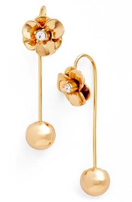 Women's Kate Spade Flower Hanger Drop Earrings $48 thestylecure.com