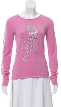 Lucien Pellat-Finet Cashmere Embellished Sweater