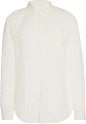 Onia Abe Linen Button-Up Shirt