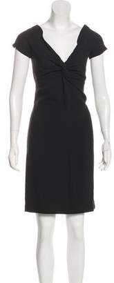 Prada Short Sleeve Knee-Length Dress