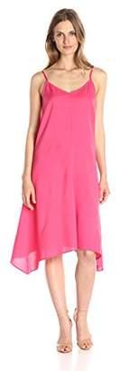 Lark & Ro Women's Handkerchief Midi Dress