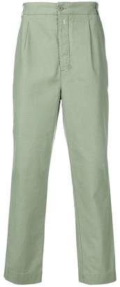 Officine Generale high rise tapered trousers