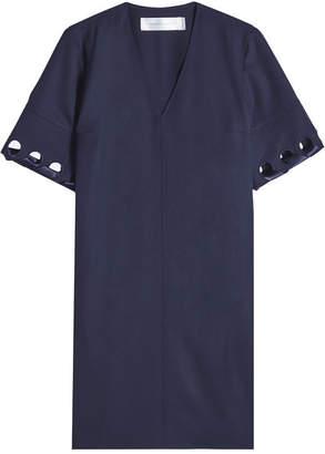 Victoria Beckham Victoria Laced Sleeve Wool Dress