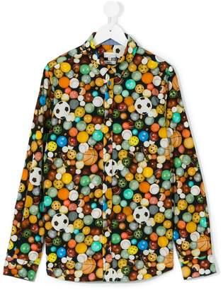 Paul Smith ball print shirt