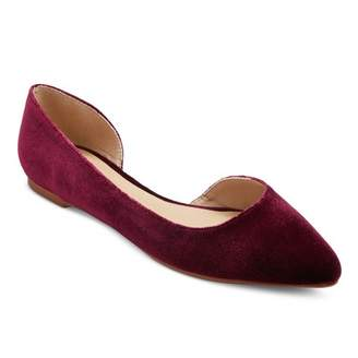 Mossimo Supply Co. Women's d'Orsay Mohana Wide Width Ballet Flats - Mossimo Supply Co. $16.99 thestylecure.com