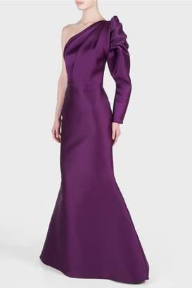 Isabel Sanchis Kegan One Shoulder Gown