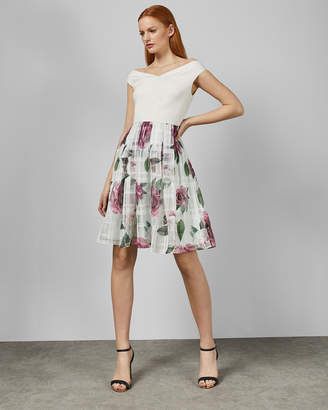 5158fcf28 Ted Baker LICIOUS Magnificent Bardot dress