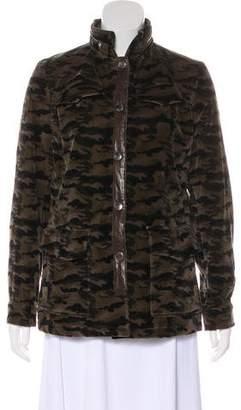 Beretta Velvet Leather-Accented Jacket
