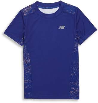 New Balance Little Girl's Short Sleeve Performance Tee