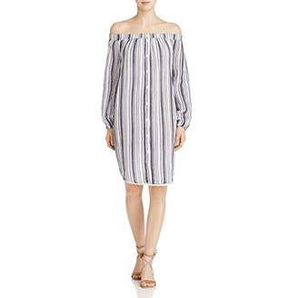 Three Dots Women's Stripe L/s Shirt Tunic