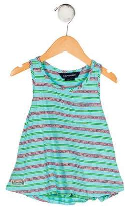 Polo Ralph Lauren Girls' Striped Knit Top