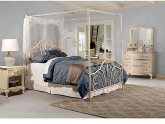 Hillsdale Furniture Dover King Bed with Bedframe, Cream