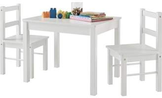 Altra Ameriwood Home Hazel Kid's Table and Chairs Set, Multiple Colors