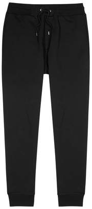 McQ Black Cotton Jogging Trousers