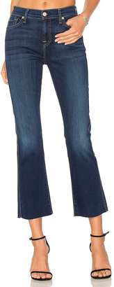 7 For All Mankind Cropped Boot with Frayed Hem $179 thestylecure.com