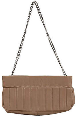 One Kings Lane Vintage Small Chanel Etoupe Shoulder Bag - Vintage Lux