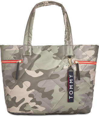 Tommy Hilfiger Kensington Quilted Nylon Tote