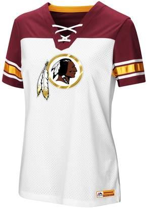 Majestic Women's Washington Redskins Draft Me Tee