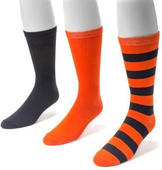 Muk Luks Adult Game Day 3-pk. Crew Socks