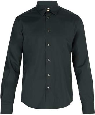 Paul Smith Single-cuff stretch-cotton shirt